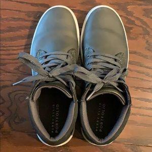 Men's Grey High top sneakers